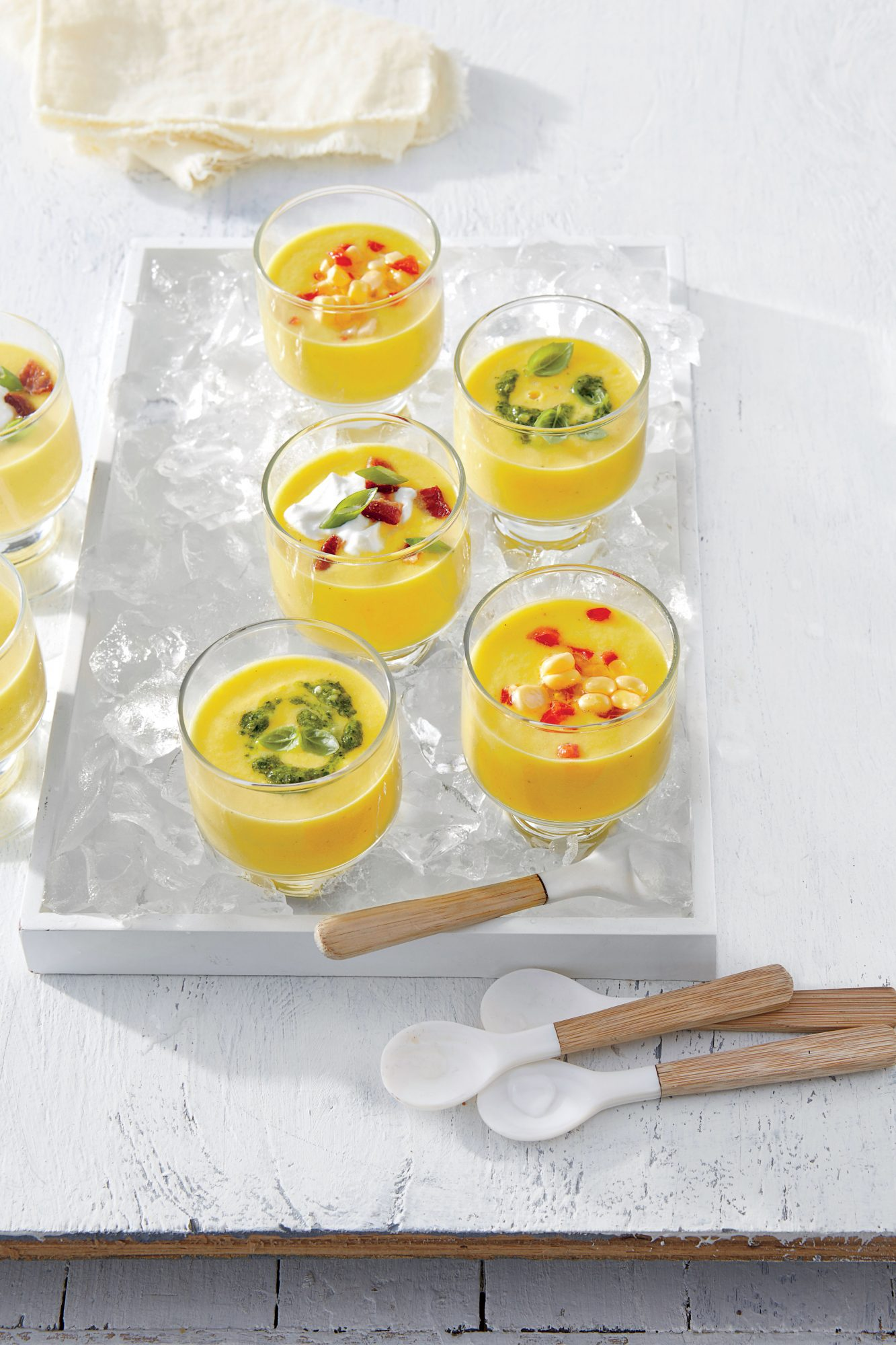 Chilled Sweet Corn Soup