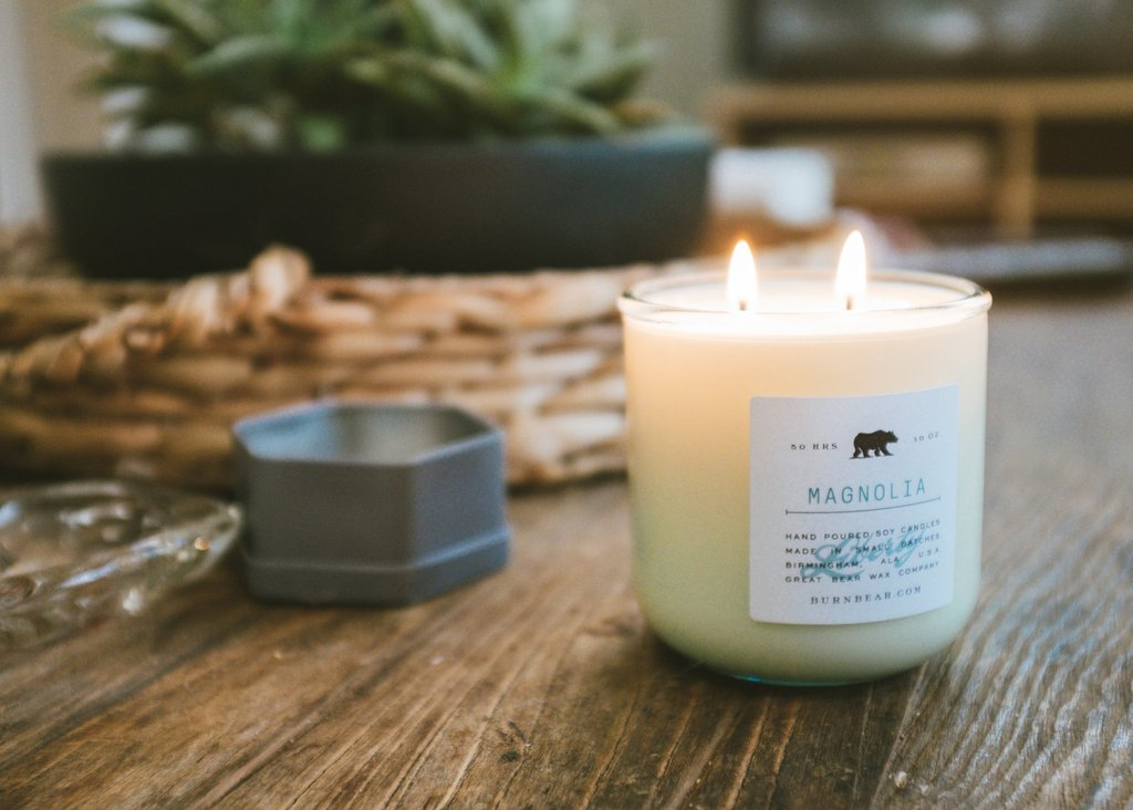 Great Bear Wax Co. Magnolia Candle