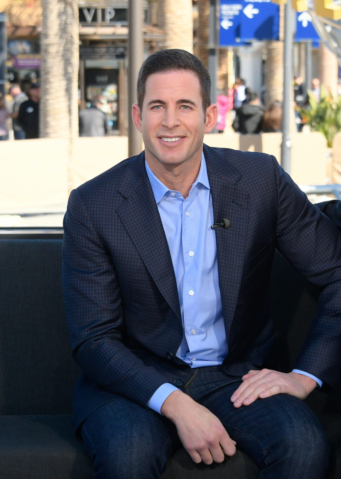 Tarek El Moussa Seated