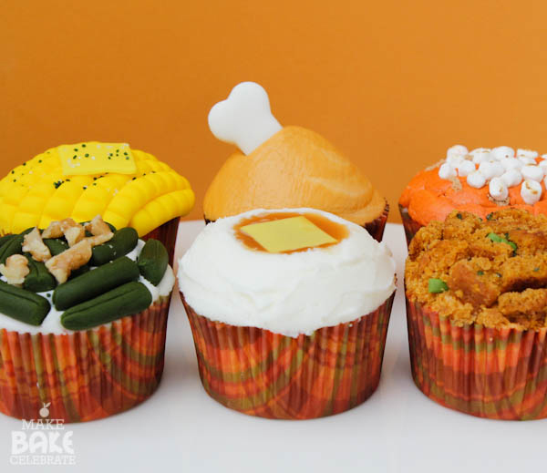 Image result for FALL THANKSGIVING CUPCAKES