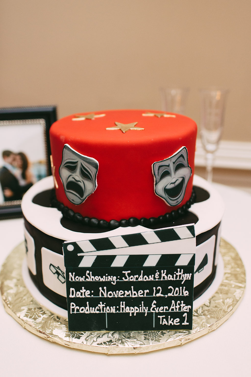 A Dramatic Grooms Cake…Literally