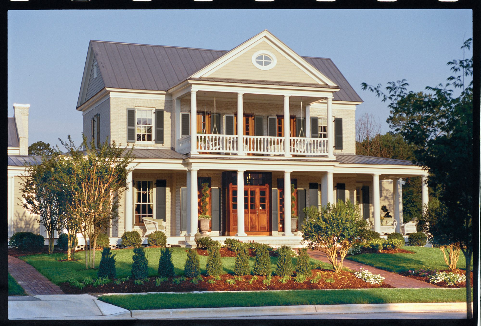 Southern house plans southern living for Home plans with porches southern