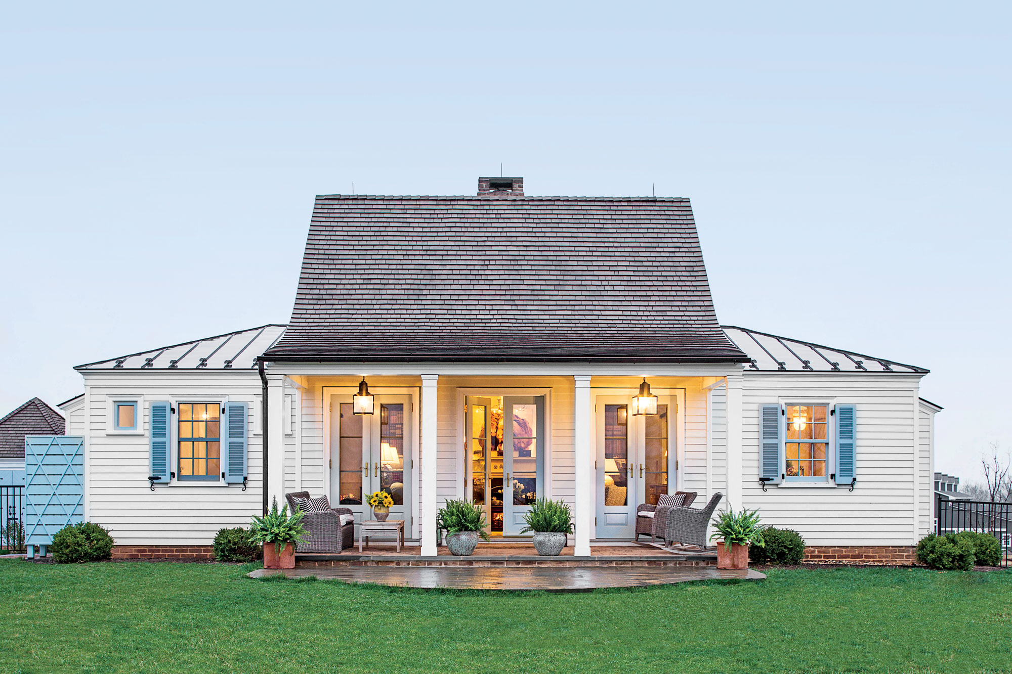 1500 square feet is the right size southern living for Square farmhouse plans