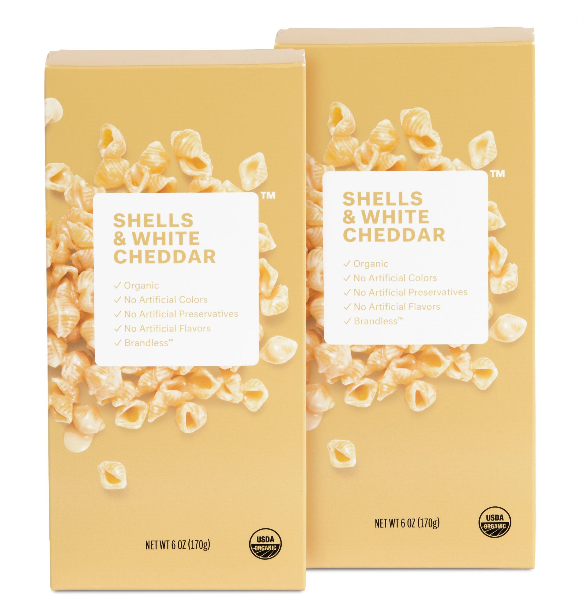 Brandless Pasta and Cheese Shells