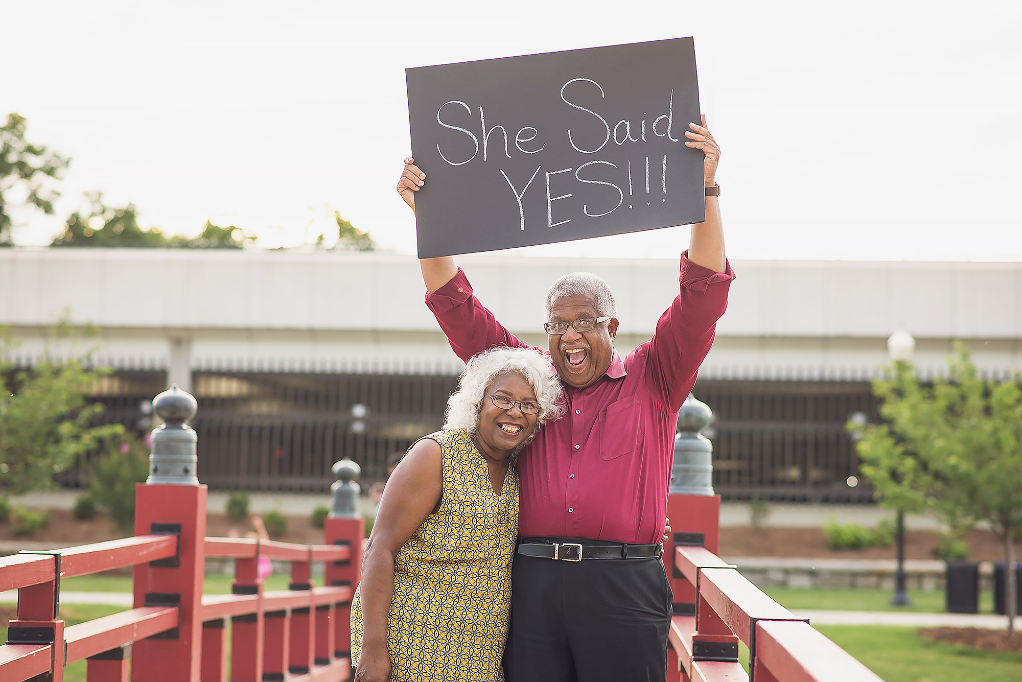 Silver-Haired Lovebirds' Engagement Photos Prove It's Never Too Late for Romance: 'We're Just Two Folks in Love'