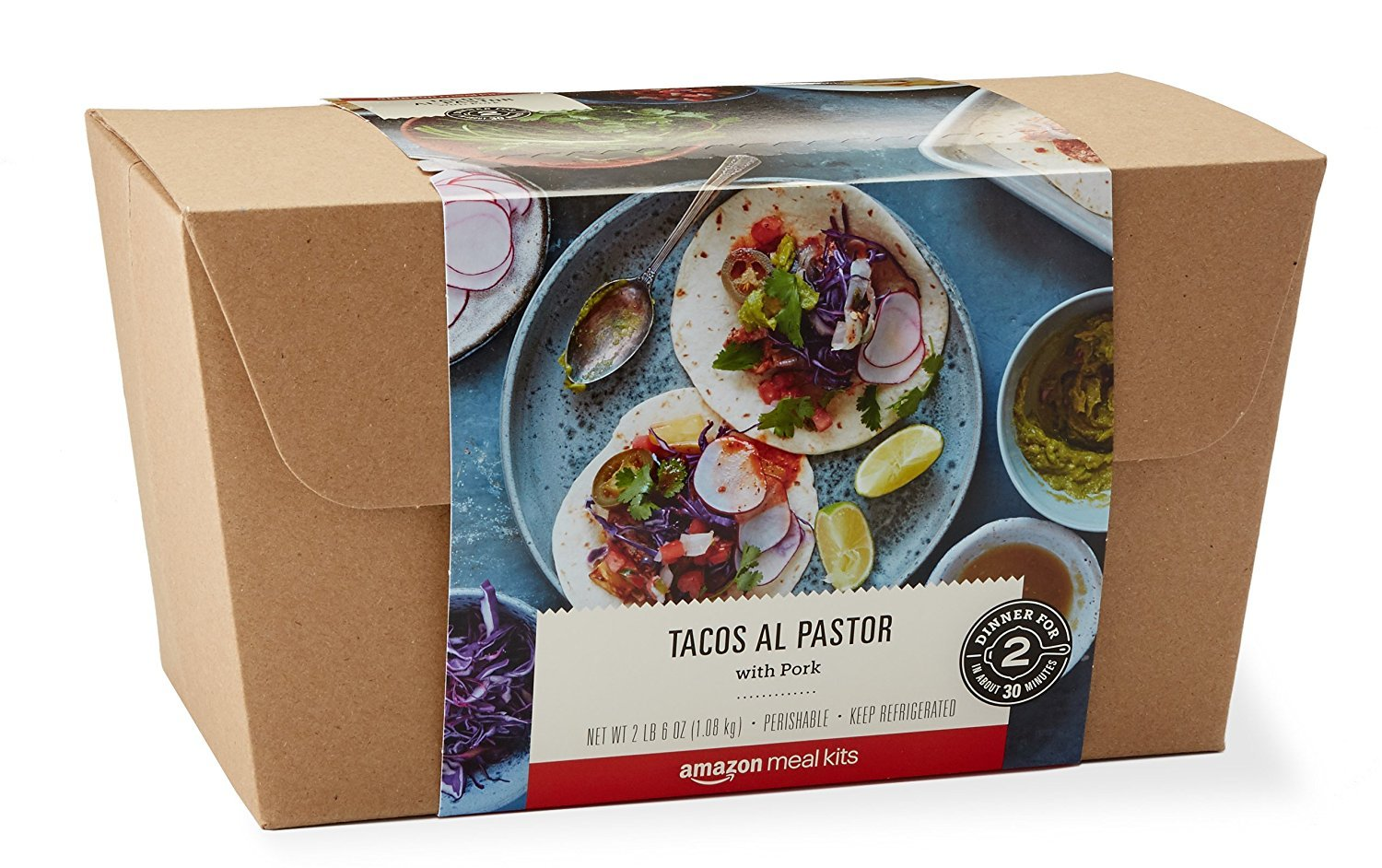 Amazon Tacos al Pastor Meal Kit