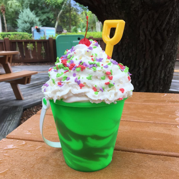Disney Sand Pail Ice Cream Bucket