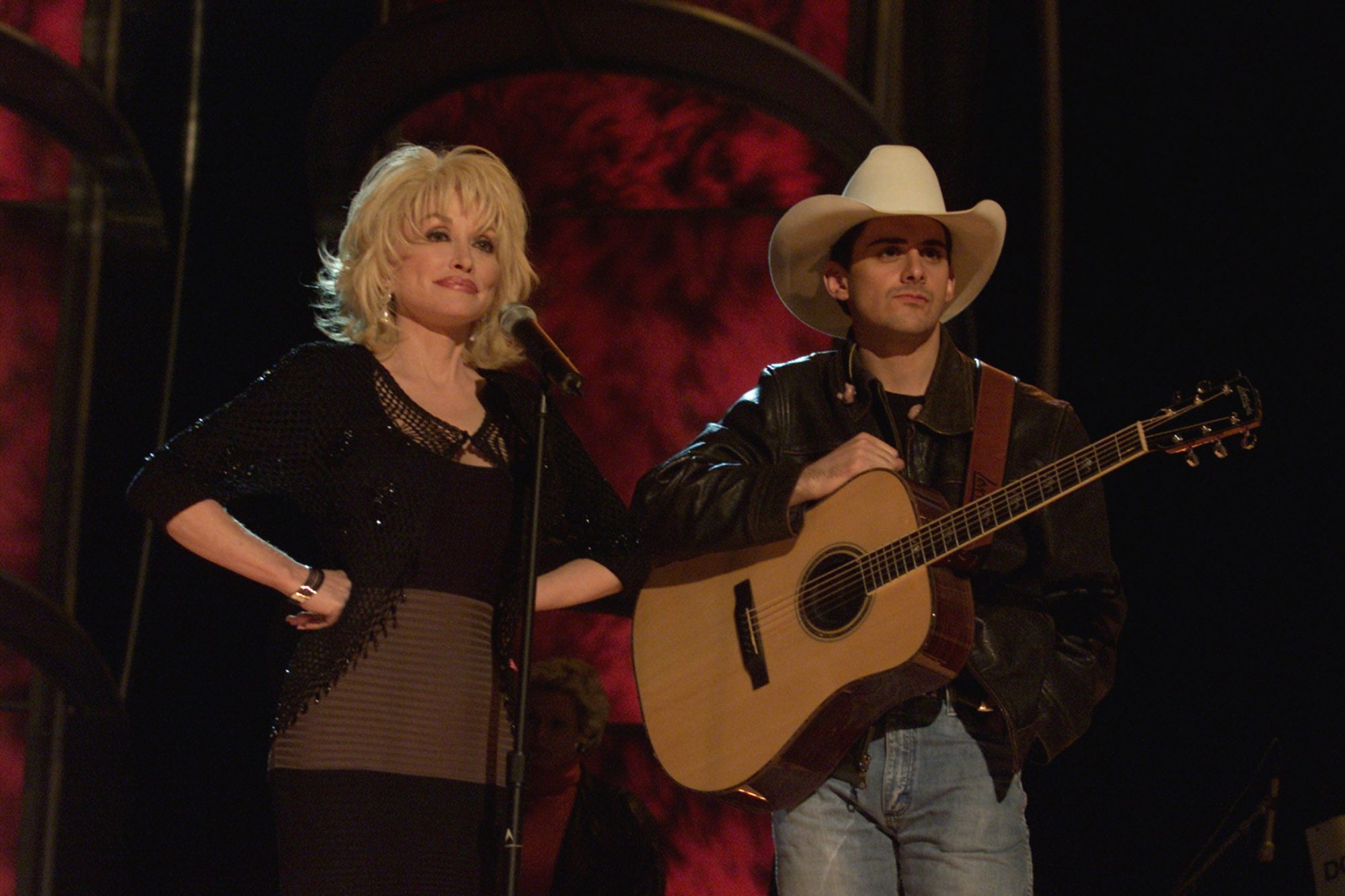 Dolly Parton and Brad Paisley