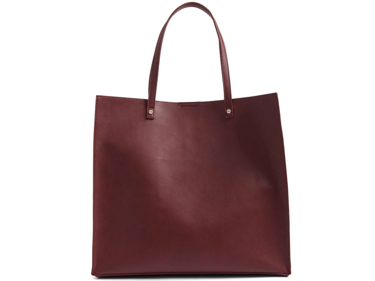 Faux Lather Tote