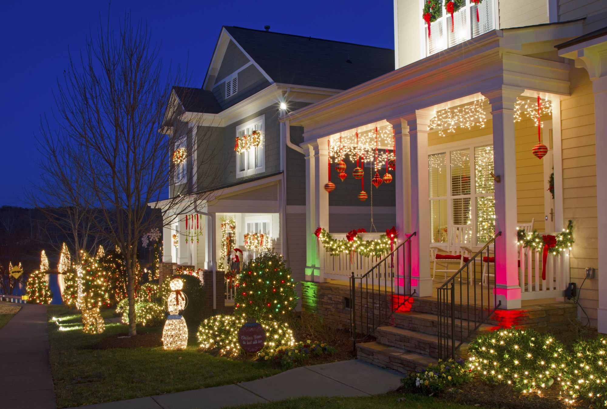 The best small towns for christmas in the south southern for American style christmas decorations