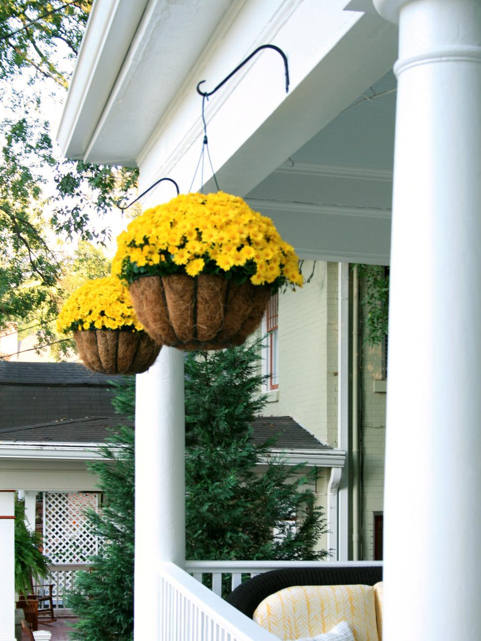 Incredible Ways to Decorate with Mums Hang 'Em Up