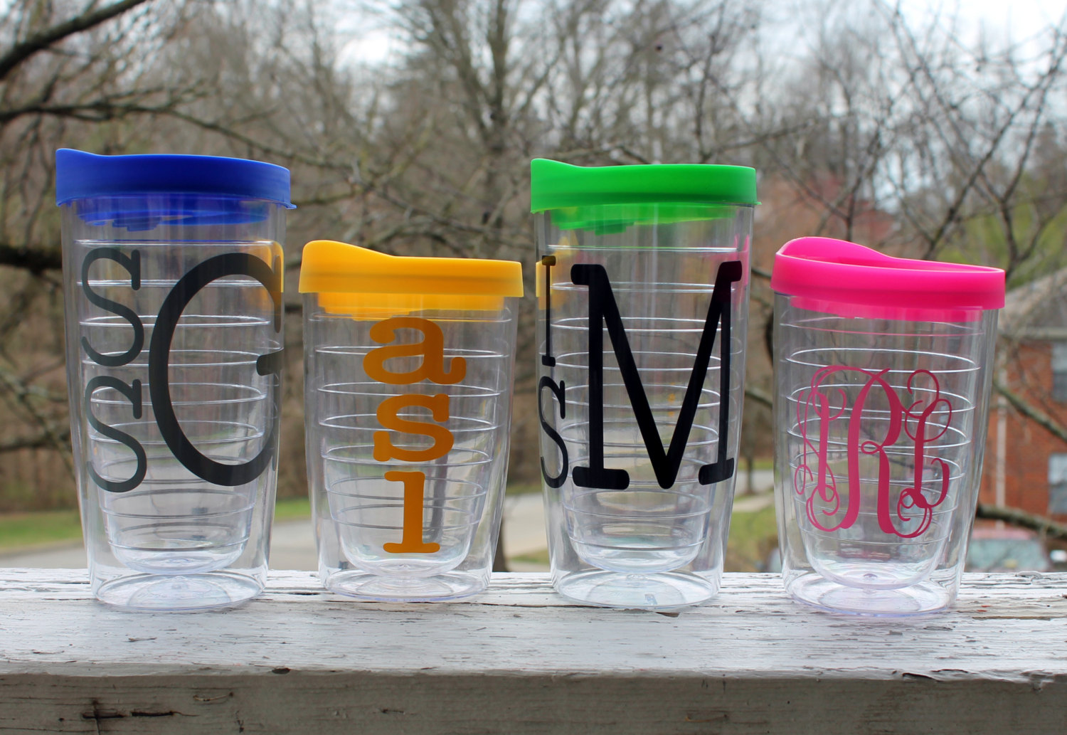 RX_1707_Dorm Room Accessories_Monogrammed Tumbler