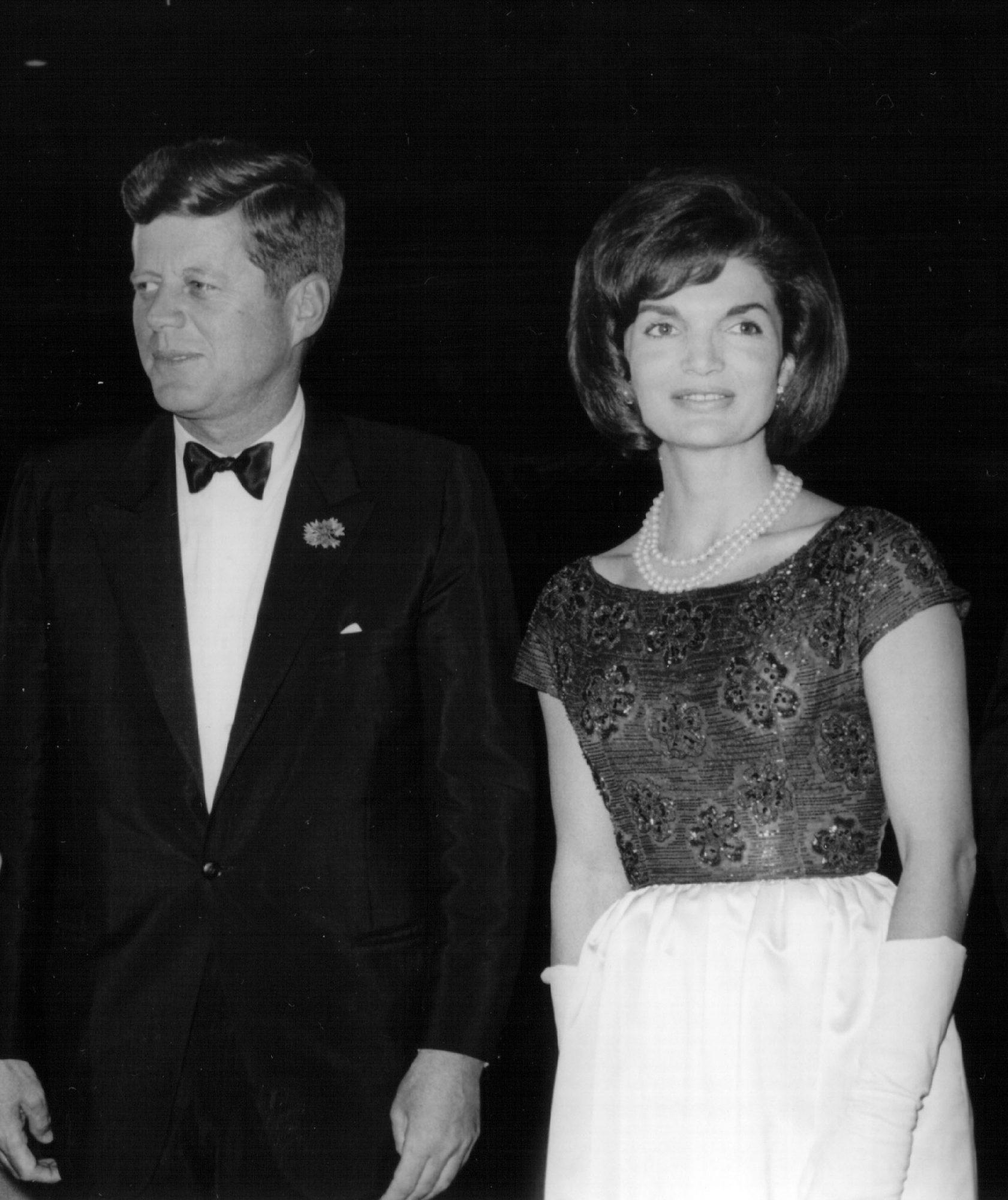 JFK and Jackie Kennedy 1963