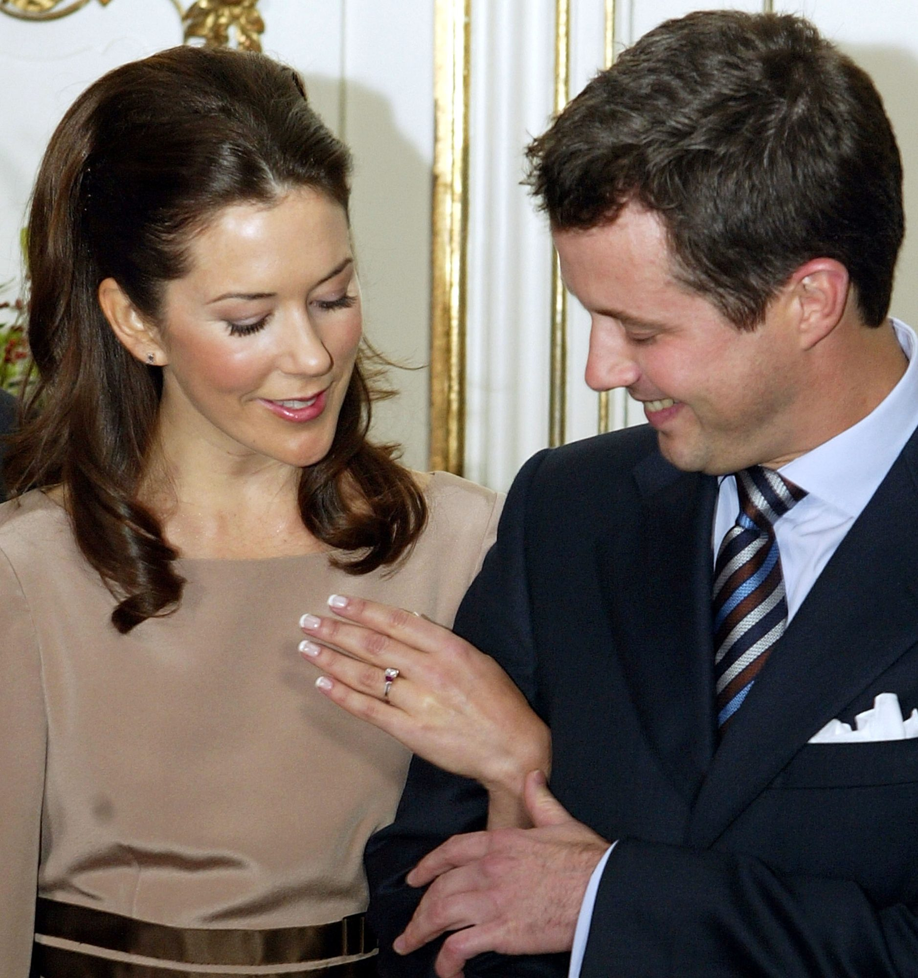 Royal Engagement Rings Mary, Crown Princess of Denmark