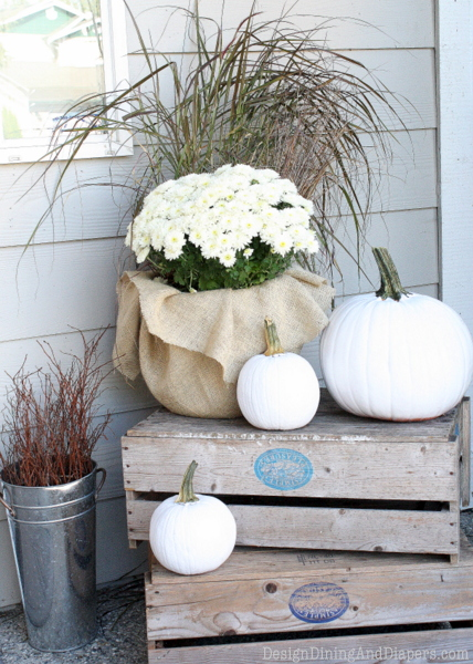 Incredible Ways to Decorate with Mums Go Neutral