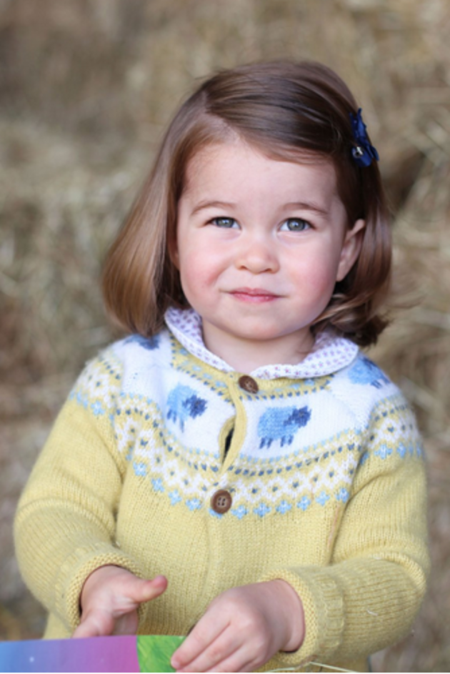 The cutest pictures of Princess Charlotte EVER!