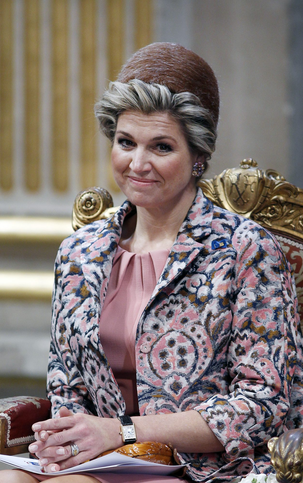 Royal Engagement Rings Queen Maxima of the Netherlands