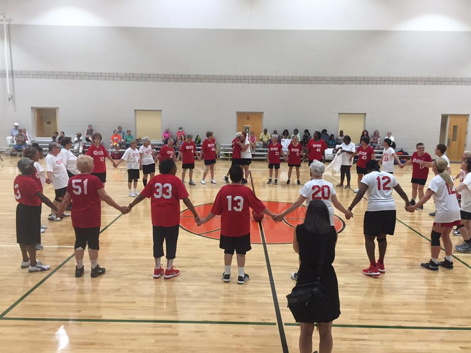 red foxes warm up circle