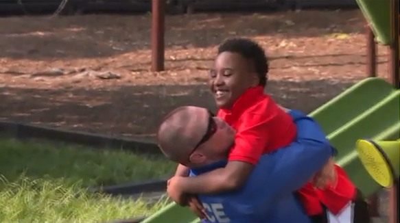 St. Louis police officer befriends boy