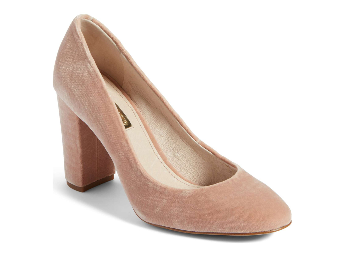 Jianna Stacked Heel Pump