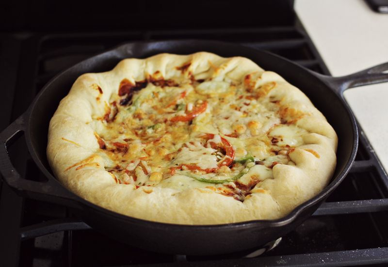 25 Skillet Pizzas Stuffed Crust Skilled Pizza