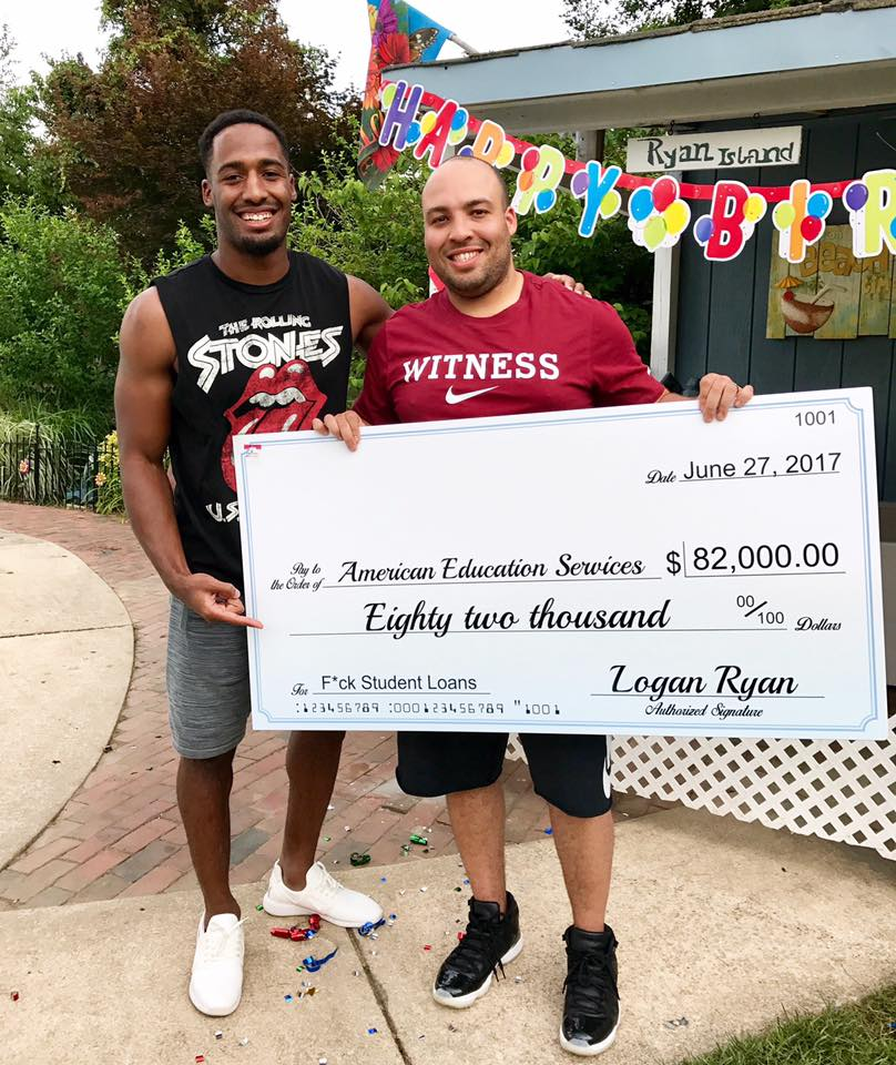 logan ryan tennessee titans pays brothers student loans