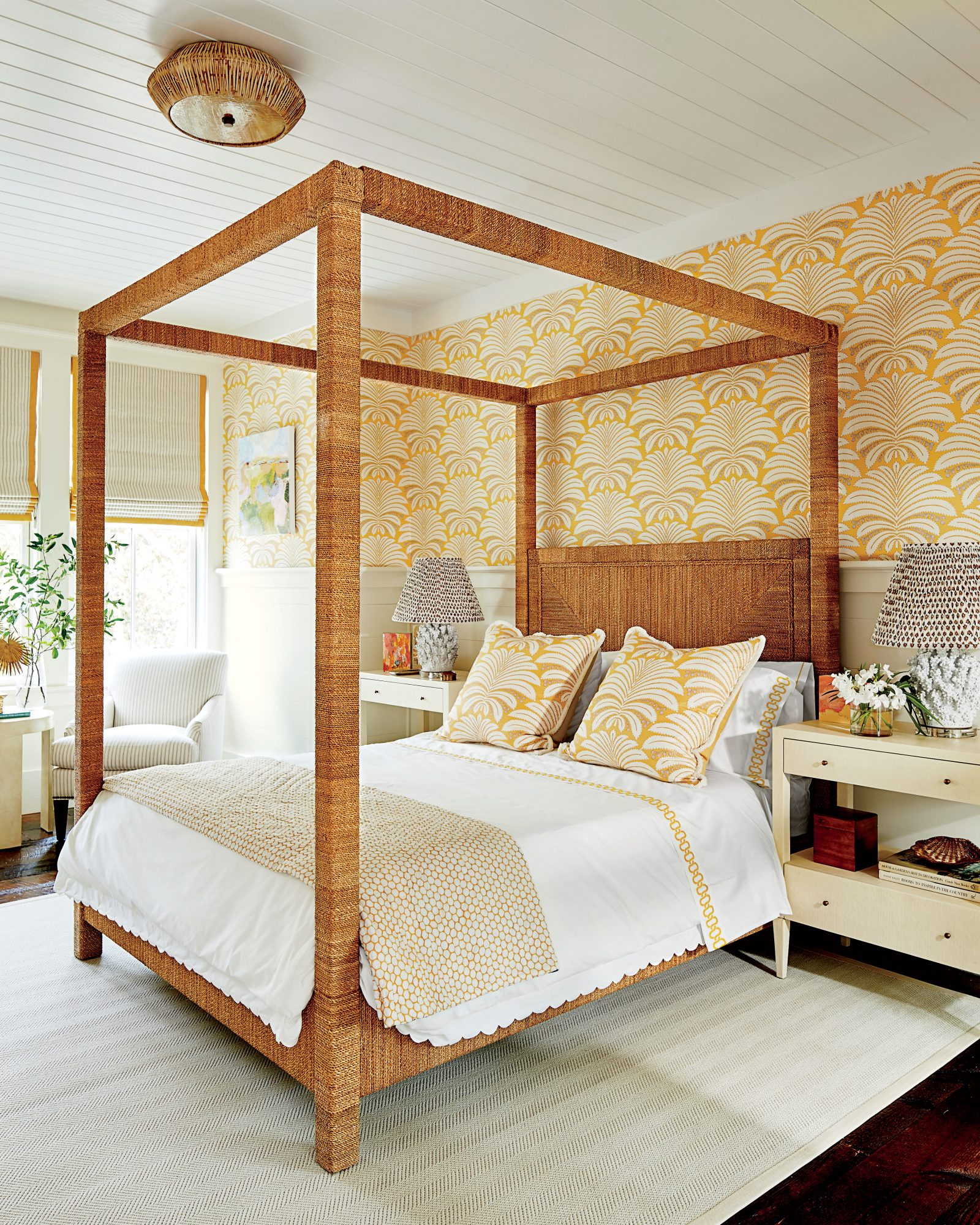 bedroom color trends 2018 color trend yellow southern living 10344
