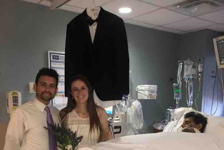 Tampa Bride Gets Married in Hospital