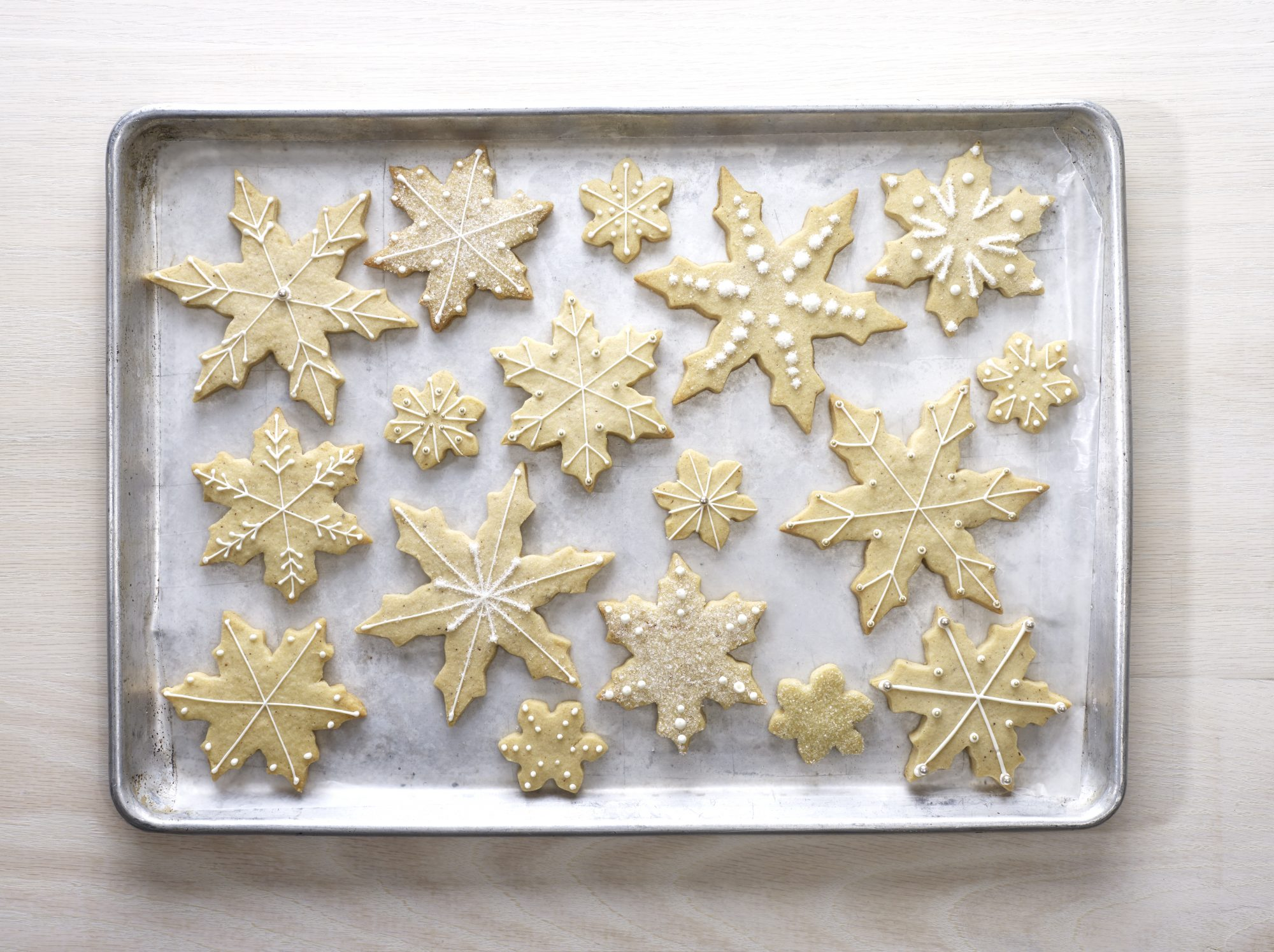 How To Make Snowflake Cookies