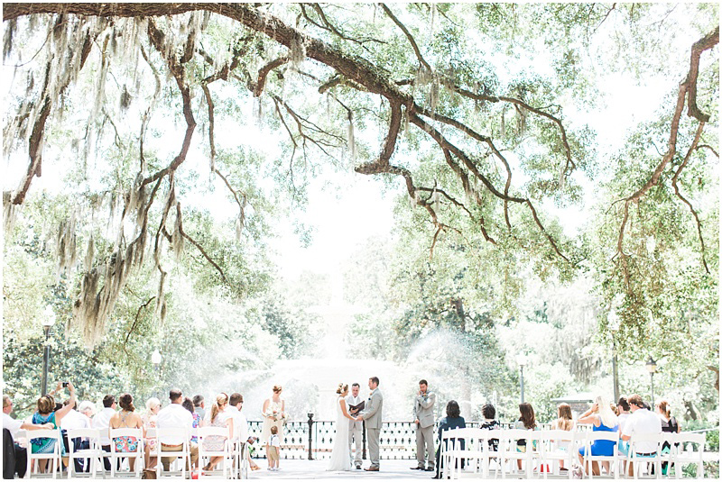 The most beautiful wedding venues in savannah southern living forsyth park junglespirit Image collections