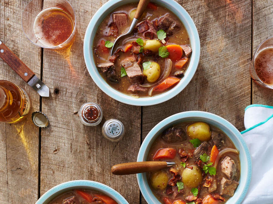 Bacon and Beef Stew