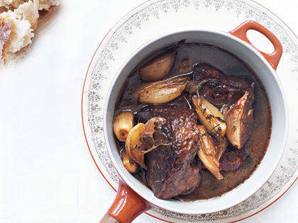 Beef and Shallot Stew