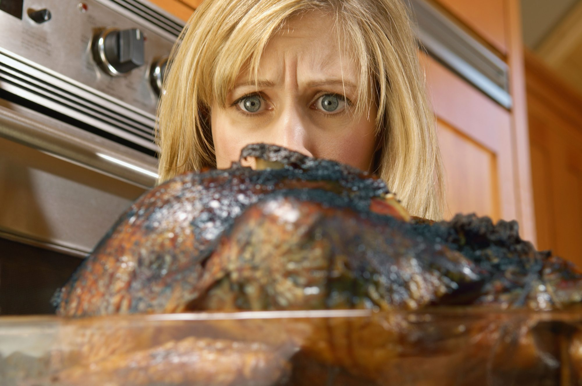 burned turkey