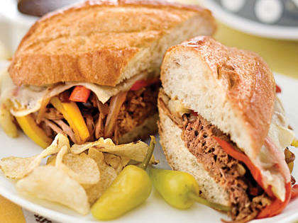 Cheesesteak-Style Sandwiches