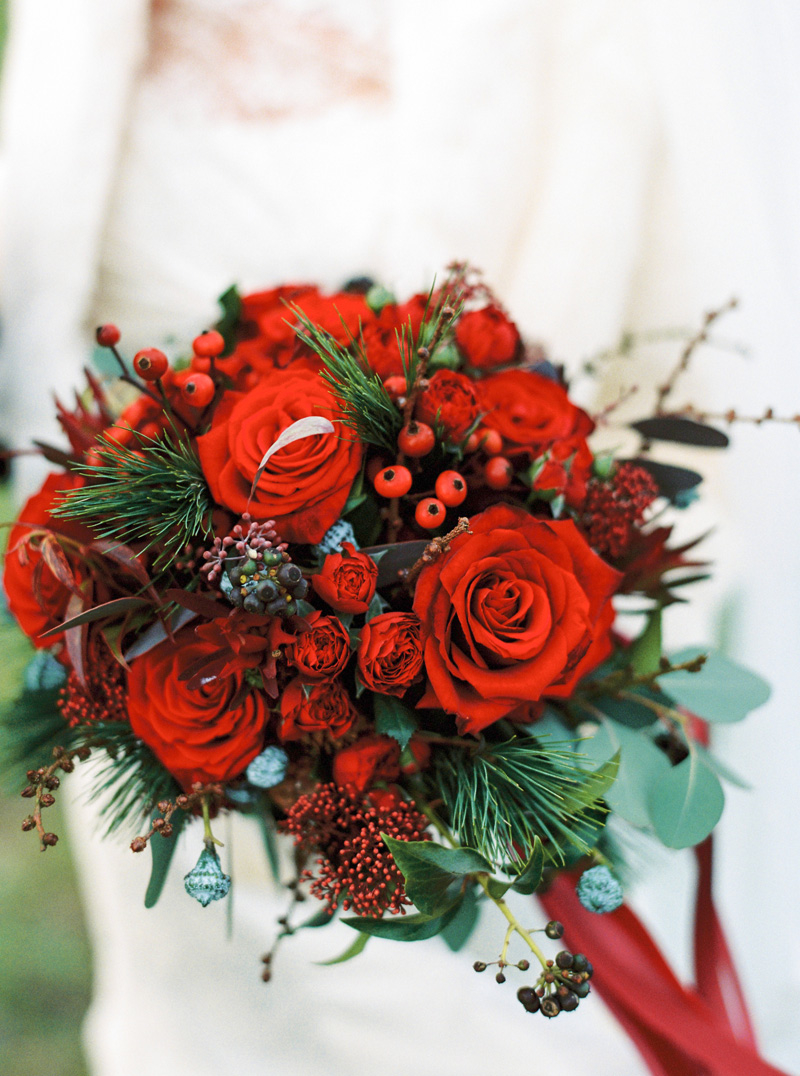 Dashing Red Bouquet