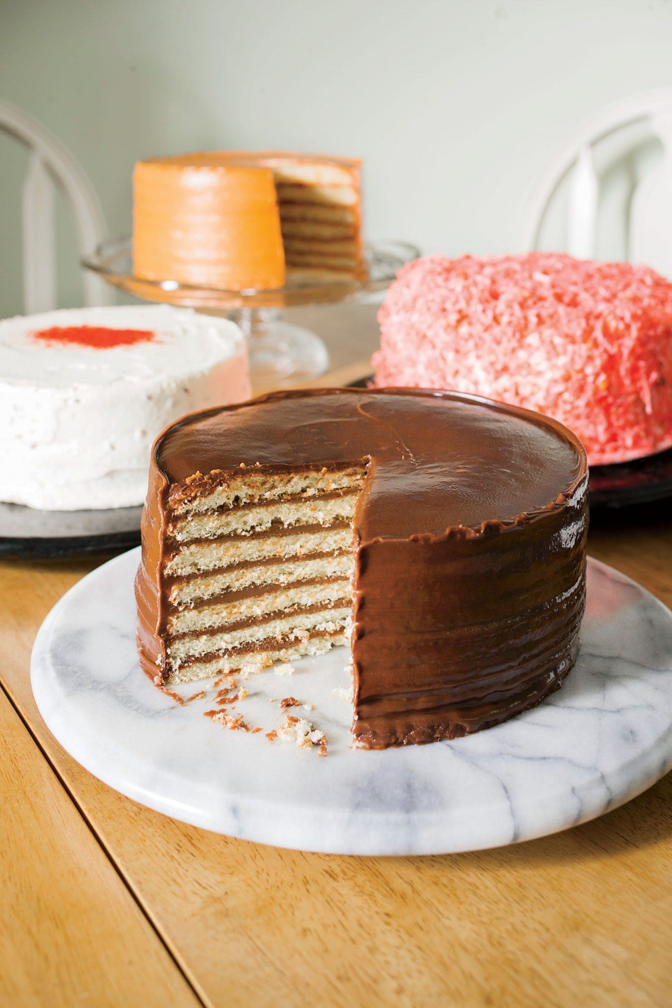 Assortment of Cakes from Dean's Cake House