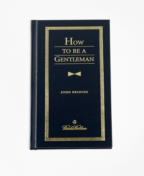 """How To Be A Gentleman"" Book"