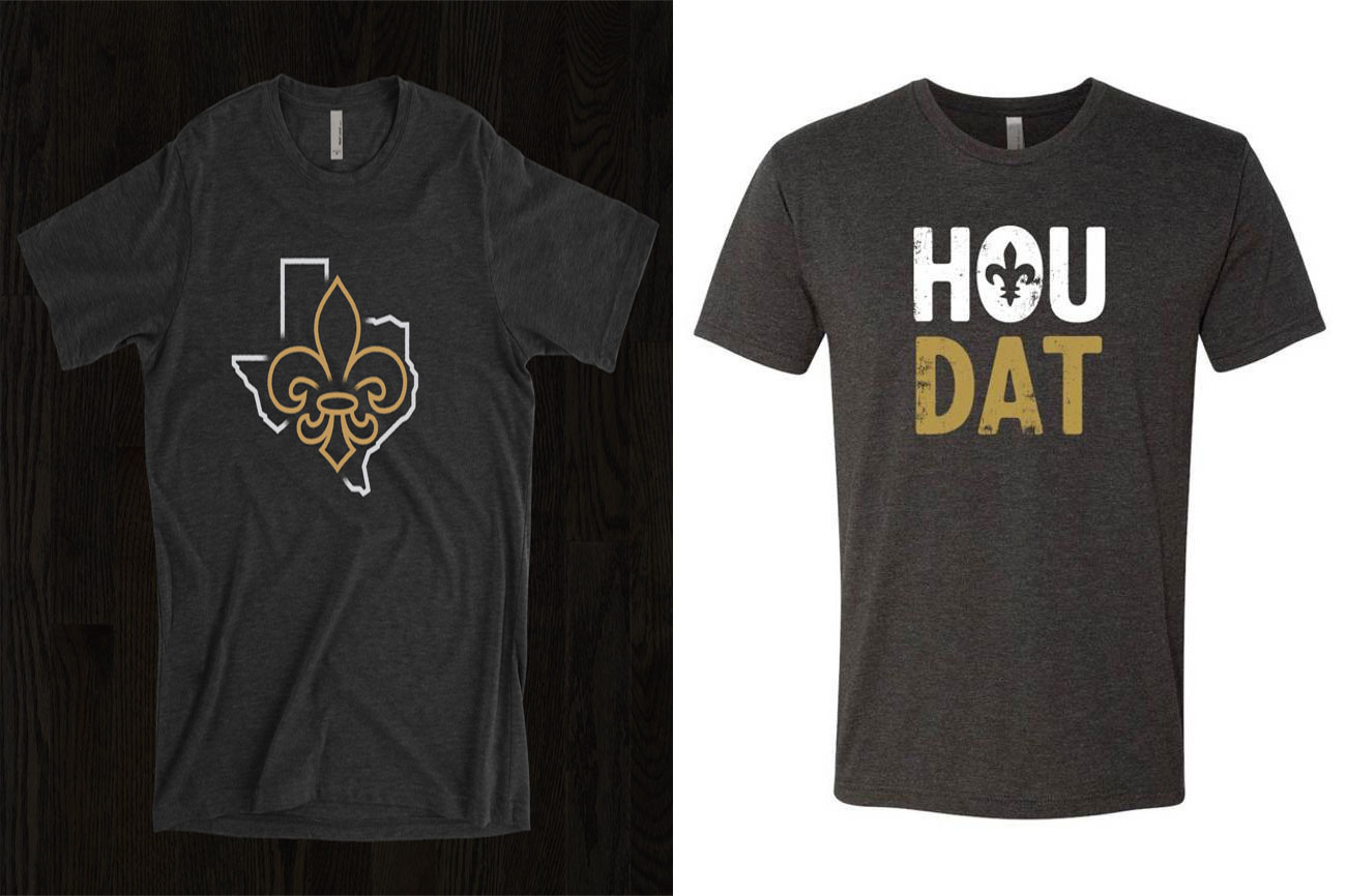 New orleans based shops are selling t shirts to raise for Shirts to raise money