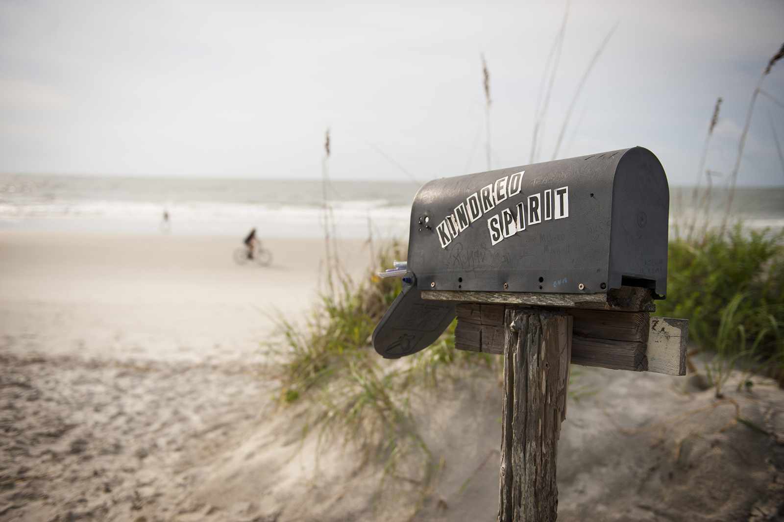 North Carolina: Kindred Spirit Mailbox on Bald Island
