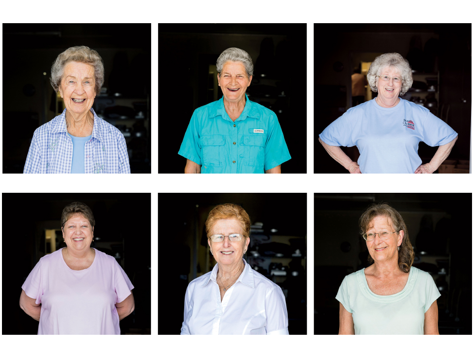 The Women of Dean's Cake House