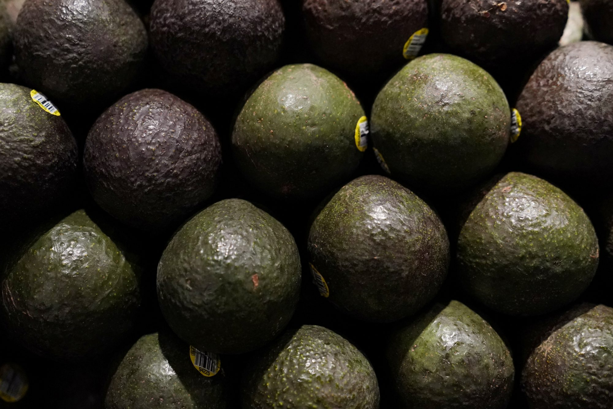 Avocados for sale are pictured inside a Whole Foods Market in the Manhattan borough of New York City