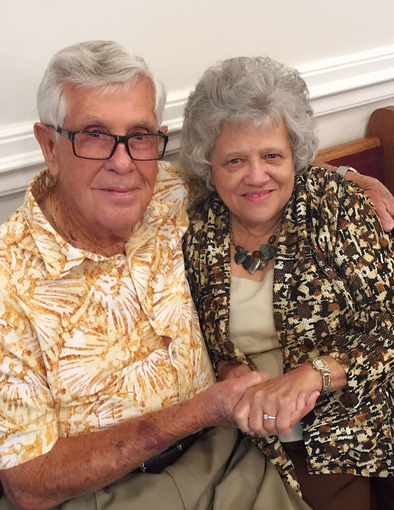 Former Teenage Sweethearts Tie the Knot Almost 70 Years After Their First Date: 'He Treats Me Like a Queen'