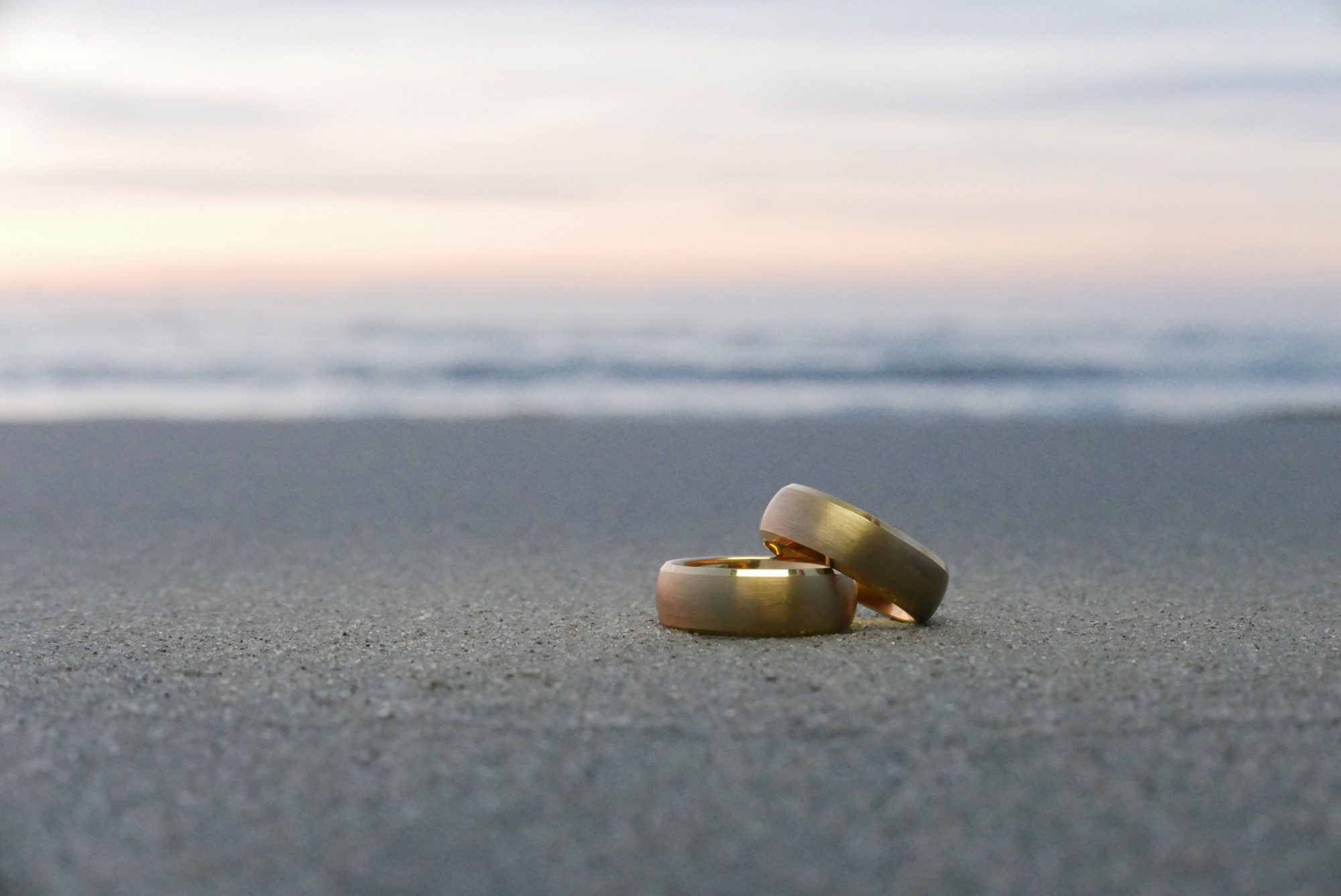 Wedding Bands on Beach
