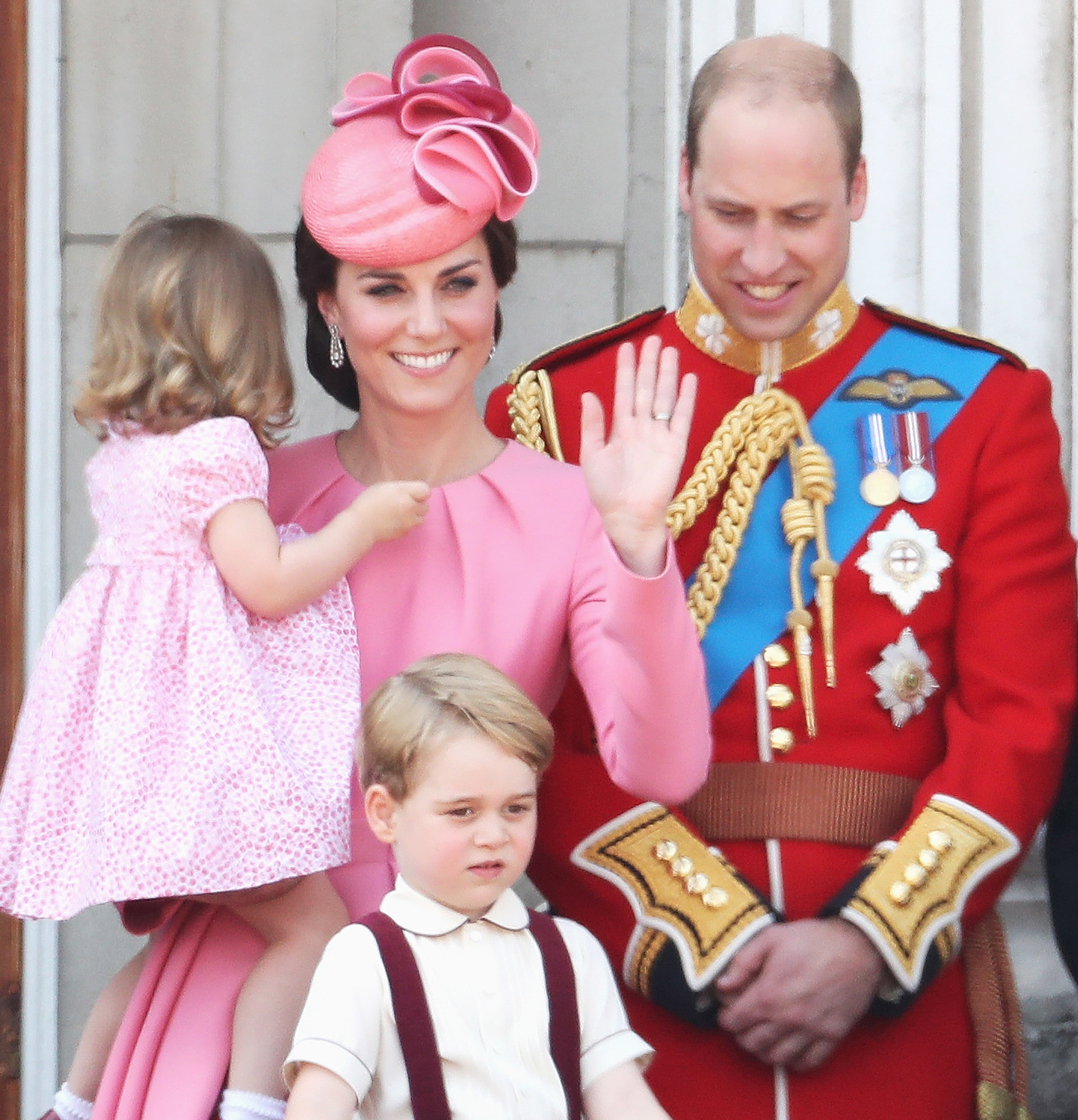 Kate Middleton and Prince William Attend Orientation for Prince George's New School