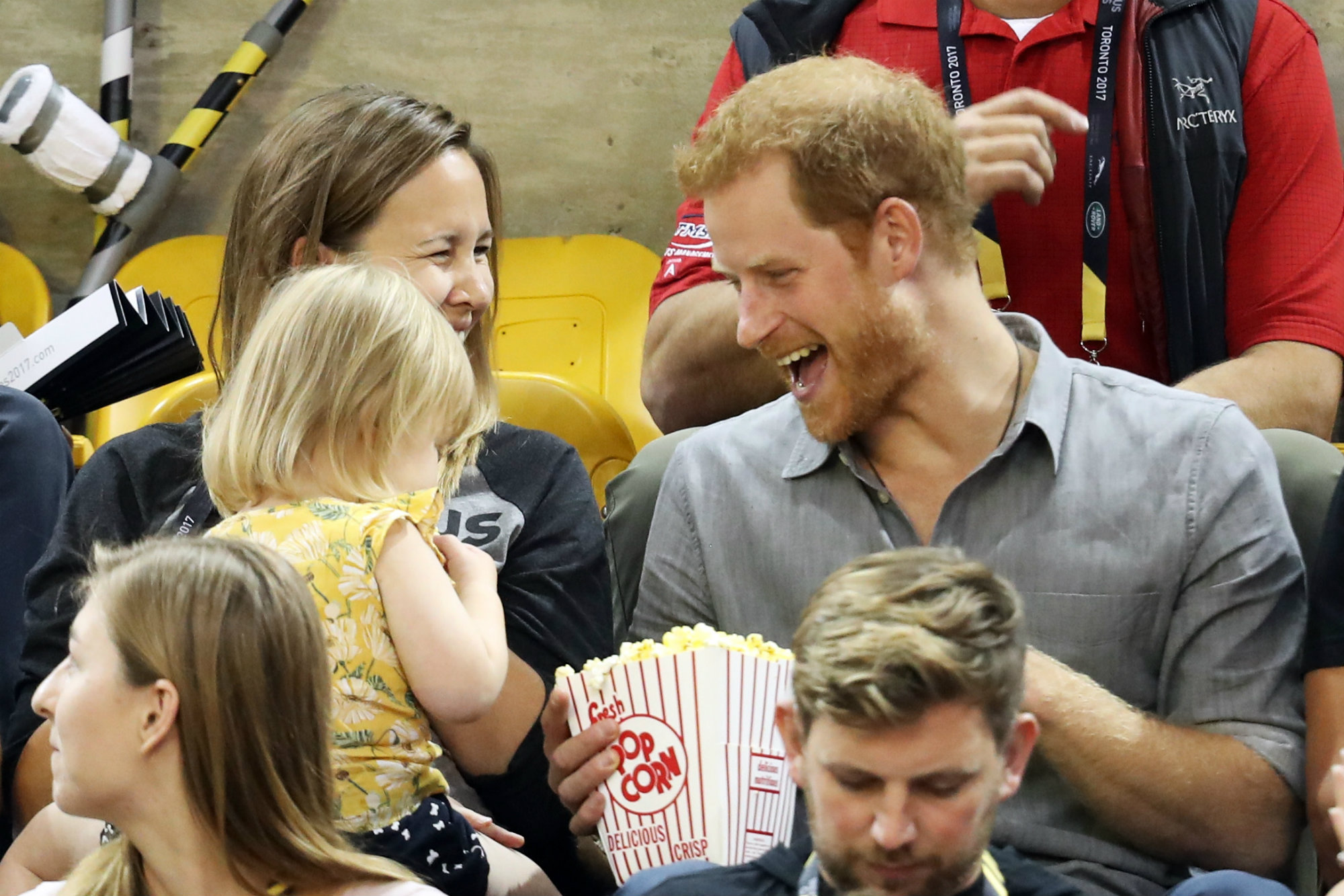 Little Girl Steals Prince Harry's Popcorn at Invictus Games, and It's the Cutest Thing Ever