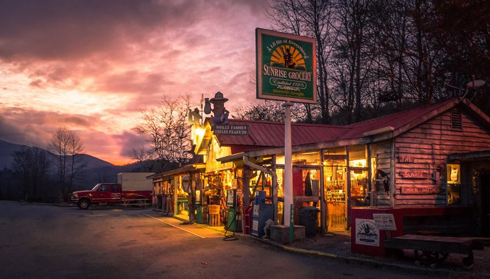 Sunrise Grocery in Blairsville, Georgia