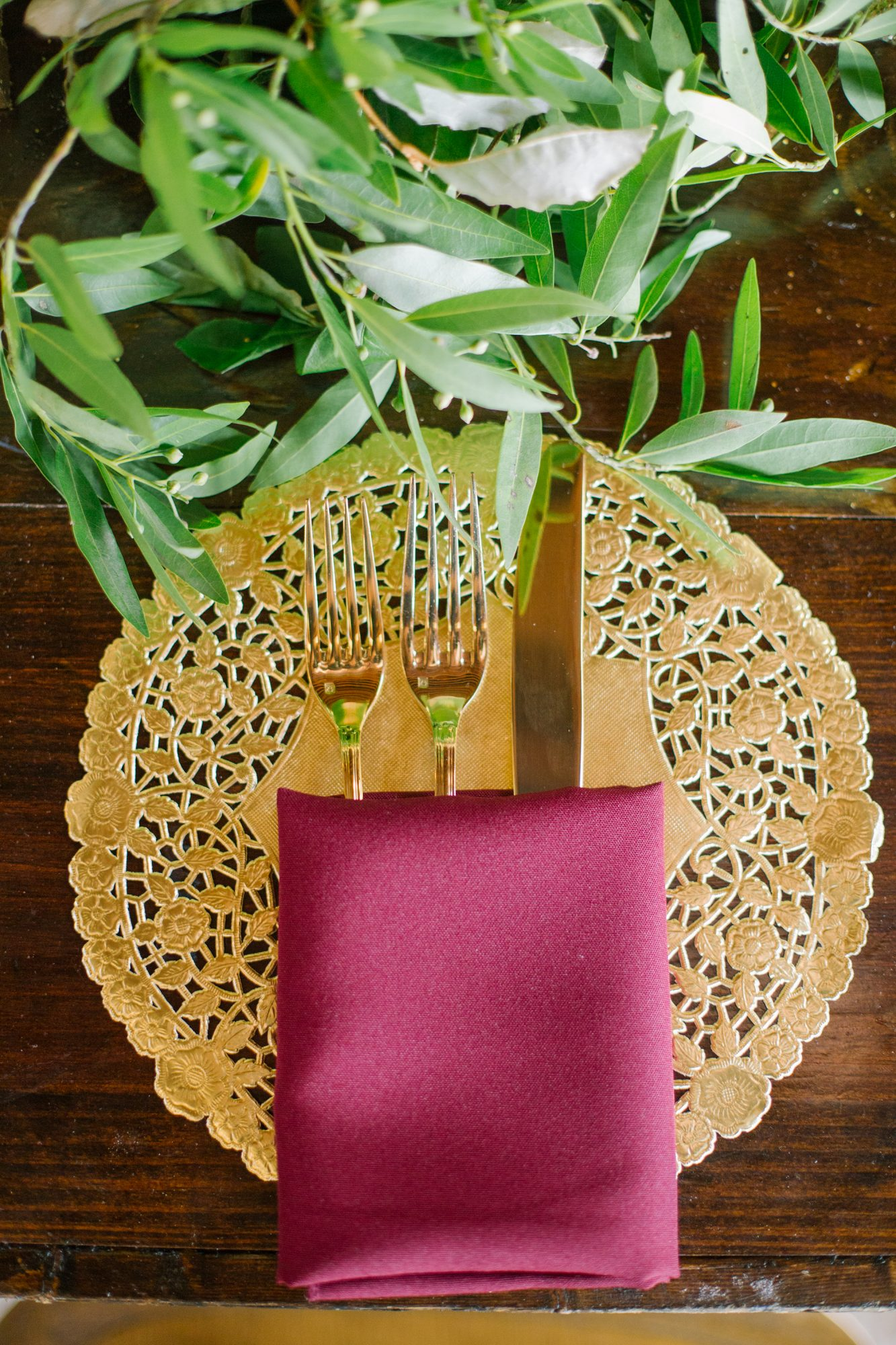 The Fanciful Fall Place Setting