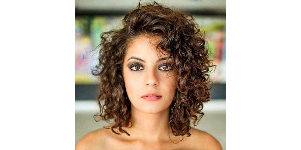 Medium Hair Curly Styles