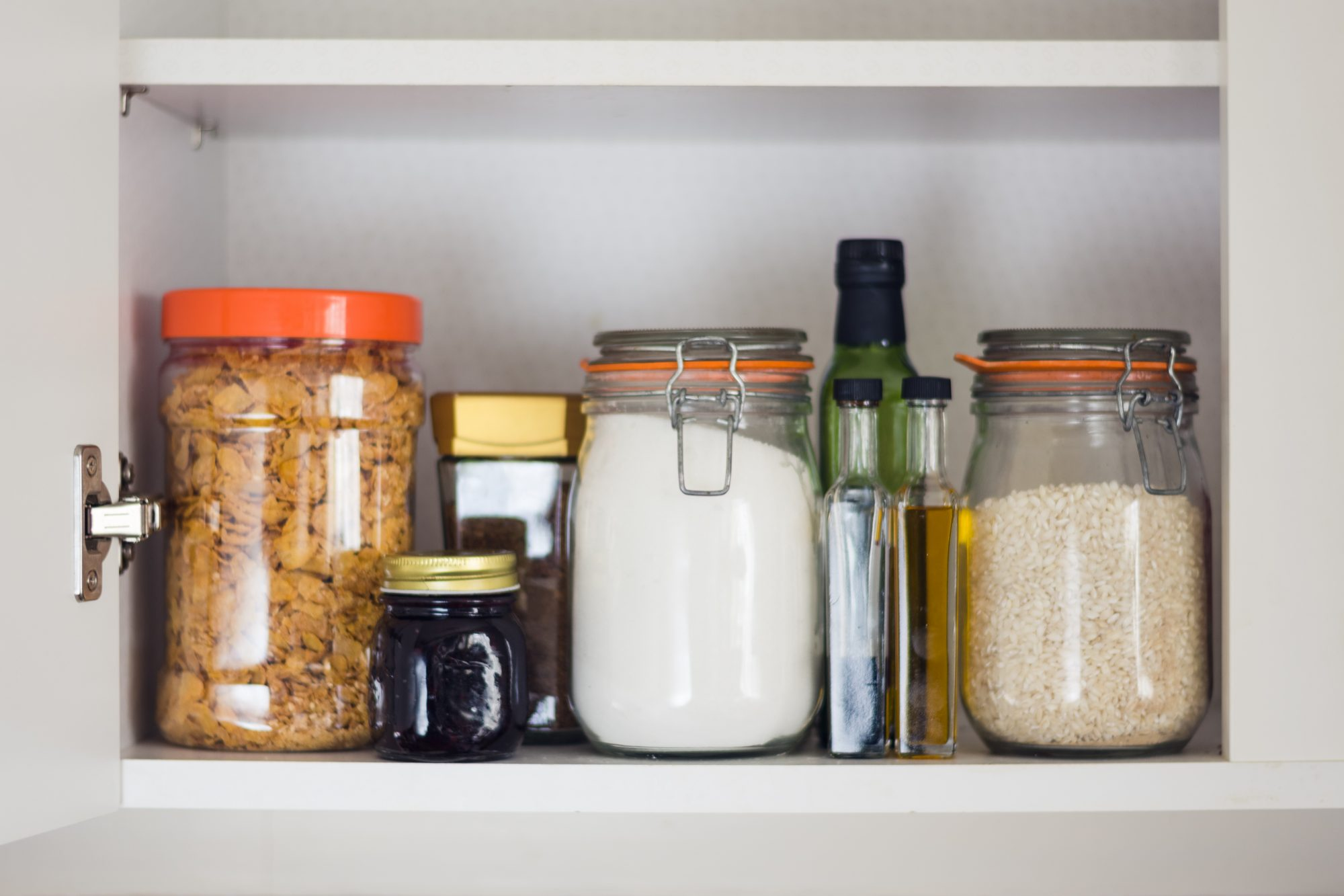 Jars in Pantry