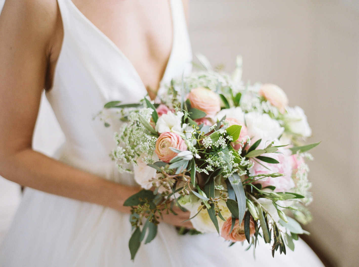 Garden-Inspired Bridal Bouquet